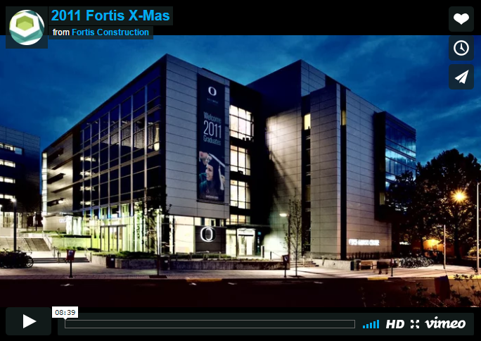 Fortis 2011 Christmas Party Video
