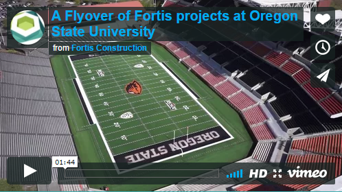 A Flyover of Fortis Projects at Oregon State University