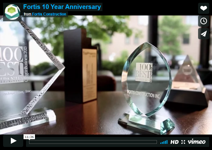 Fortis 10 Year Anniversary Video