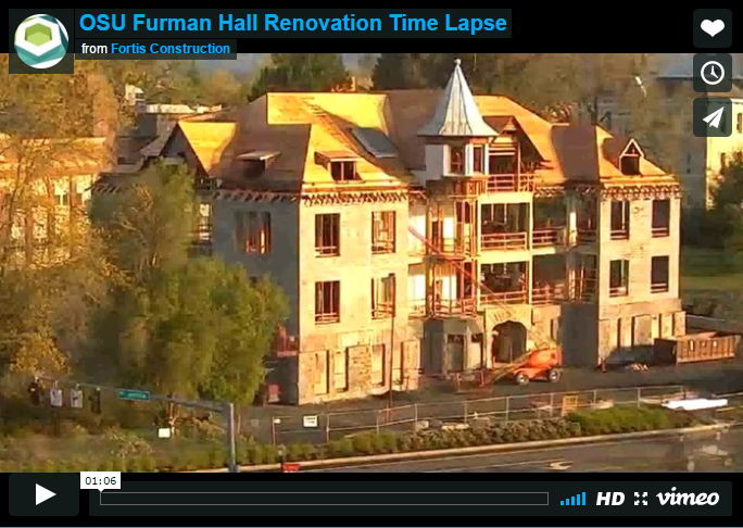 OSU Furman Hall Renovation and Seismic Upgrade
