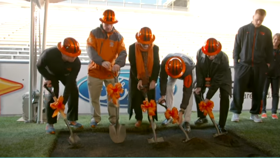Oregon State University Football New Locker Room Reveal @ Reser Stadium